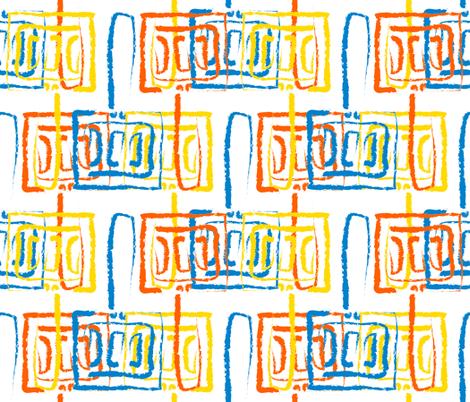 Mod Spatulas fabric by anniedeb on Spoonflower - custom fabric