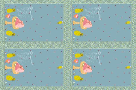 Ham Hawaiian! fabric by pattyryboltdesigns on Spoonflower - custom fabric