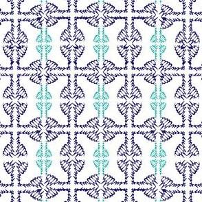 JKD - Winged Knots in Blues