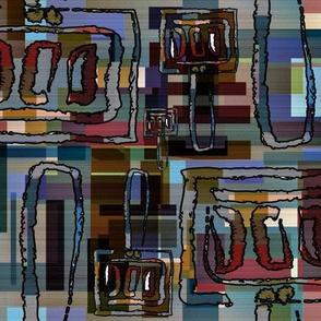 Sketchy Spatulas on Blocks of Color