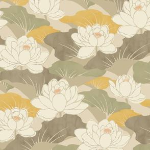 White Lotus - yamabuki -