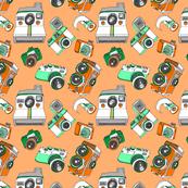 Camera Love - Orange