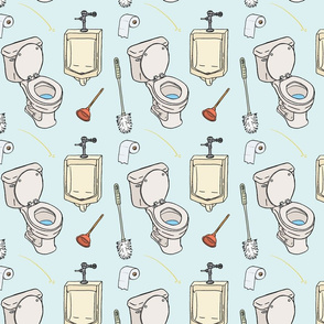 Bathroom Pattern
