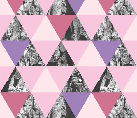 Triangle Bark  fabric by sarahjanke on Spoonflower - custom fabric
