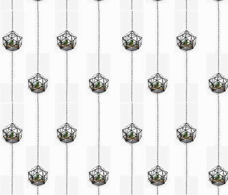 Hanging Terrariums fabric by new_earth_baby on Spoonflower - custom fabric