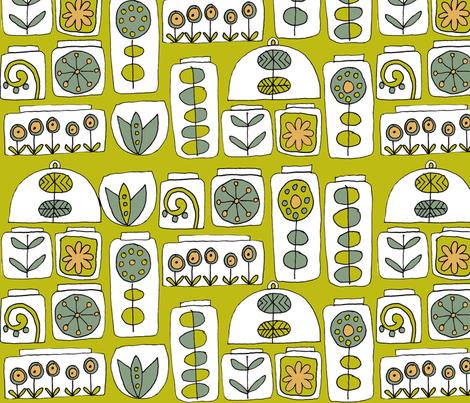 indoor gardens fabric by weejock on Spoonflower - custom fabric