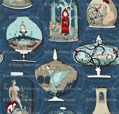 Fairytale Terrariums (in Ink)
