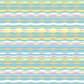 Tropical Stripes (Pastel)