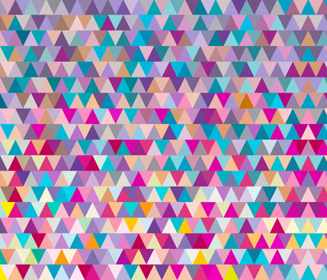 Triangles fabric by ornaart on Spoonflower - custom fabric