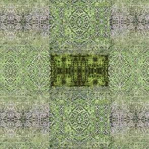 Grunge Lace Green