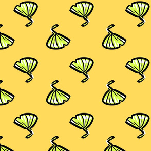 Yellow Graphical Ginkgo