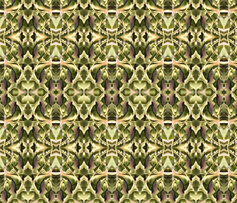Moth Kaleidoscope  fabric by tundra_flower_ on Spoonflower - custom fabric