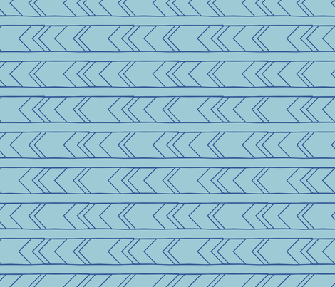 teal_blue-01 fabric by jenflorentine on Spoonflower - custom fabric