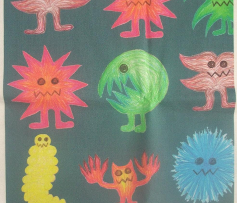 Crayon Monsters Navy