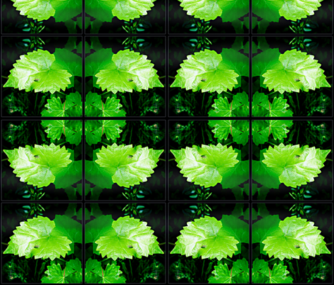 grapeleaf and goldfly fabric by liberation on Spoonflower - custom fabric