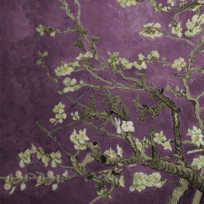 Van Gogh Almond Tree_purple