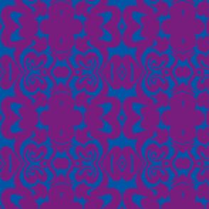 Purple Blue Velvet