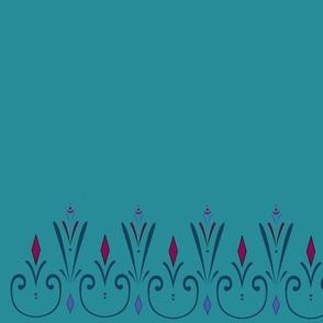 Elsa Coronation Dress Fabric