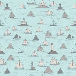 Sailboats - colorway 02