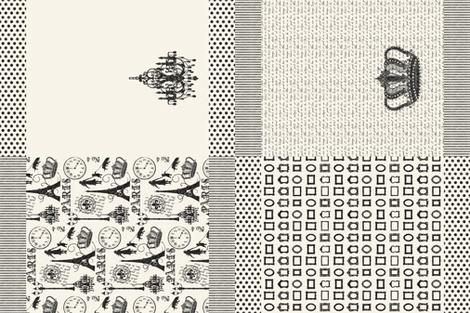 Gift Set of 4 JBalyeat Tea Towels fabric by jolenebalyeatdesigns on Spoonflower - custom fabric