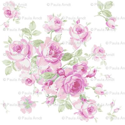 Lake Maria Summer Roses in Sorbet Pink