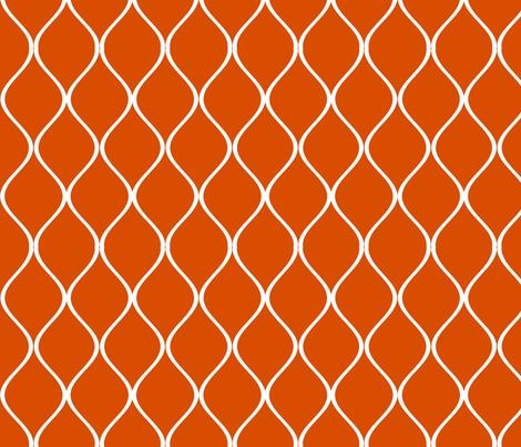 MOD Curves fabric by kiniart on Spoonflower - custom fabric