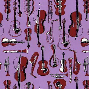 Brass and String Instruments