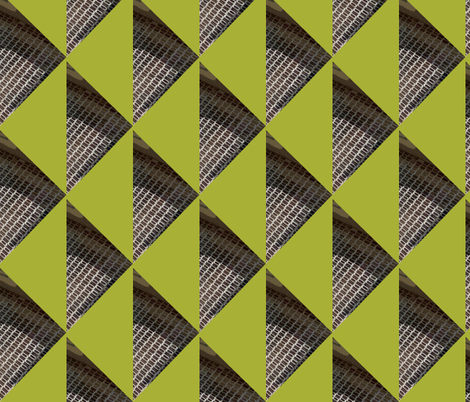 Urban shapes with Burglar Bars fabric by susaninparis on Spoonflower - custom fabric