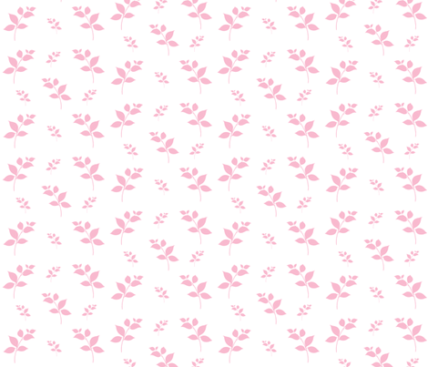 Leaves of Pink 525 fabric by drapestudio on Spoonflower - custom fabric