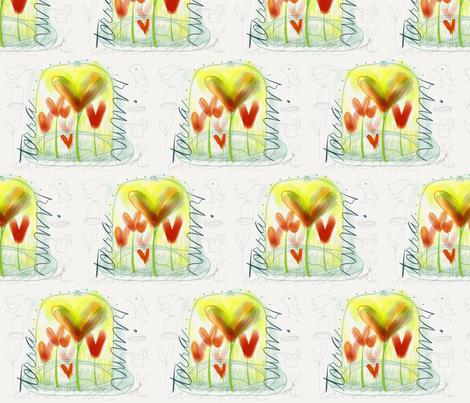 terrarium fabric by leannethomas on Spoonflower - custom fabric