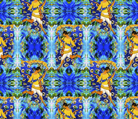 Lords A Leaping fabric by whimzwhirled on Spoonflower - custom fabric