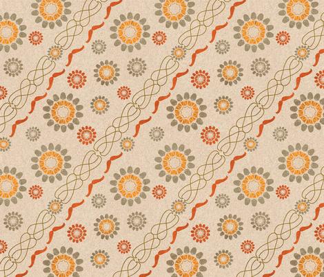 Beard and Mustache Flower Diagonals fabric by vinpauld on Spoonflower - custom fabric
