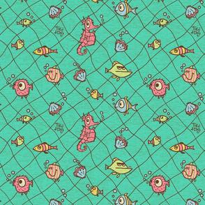 Tiki tOny Fish Net Small