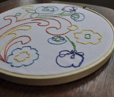 MODERN SCANDINAVIAN Embroidery