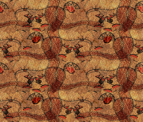 The Moldy Bread Monster fabric by anniedeb on Spoonflower - custom fabric