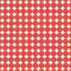 Geometric Small 2 (Cayenne)