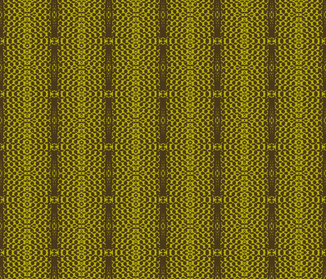 Dark Star Entering the Neutral Zone, 2-Chartreuse fabric by susaninparis on Spoonflower - custom fabric
