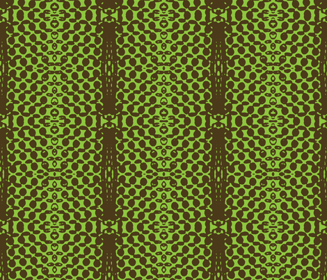 Entering the Neutral Zone, 2-Spring Green fabric by susaninparis on Spoonflower - custom fabric