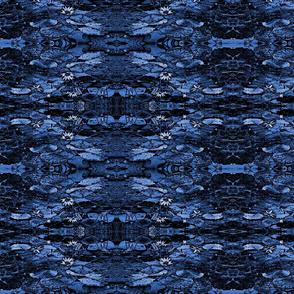 Tribal Blue