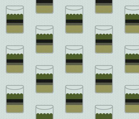 Moss Terrariums fabric by mongiesama on Spoonflower - custom fabric