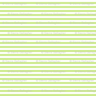 Sprout Stripes 1/2 Inch Horizontal