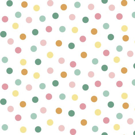 spring polka dots fabric by weavingmajor on Spoonflower - custom fabric