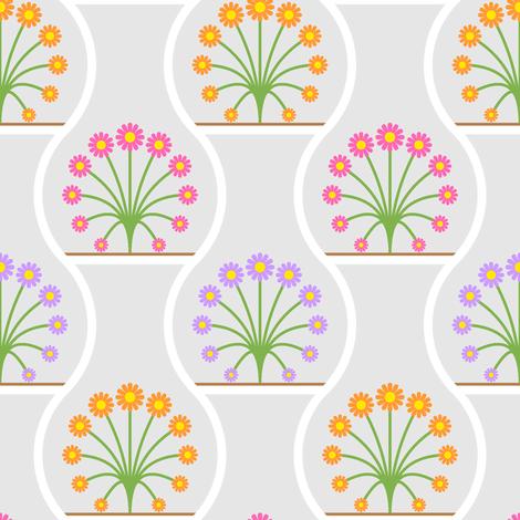terrarium 1x3 fabric by sef on Spoonflower - custom fabric