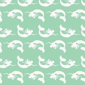 mermaid_swimming mint