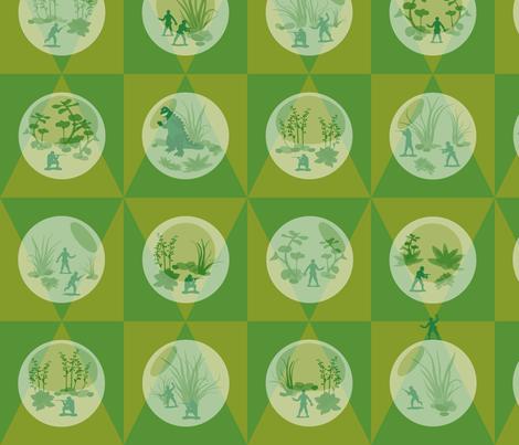 Yippee-Ki-Yay fabric by gray___ on Spoonflower - custom fabric