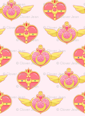 Sailor Scout Brooches Vertical