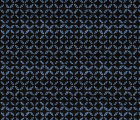 JUNPEI_ blue indigo90 fabric by ginger&cardamôme on Spoonflower - custom fabric