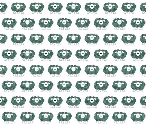 Amy sheep fabric by amyknits on Spoonflower - custom fabric