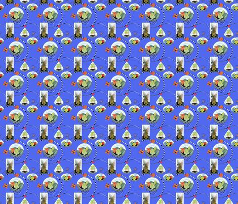 terrarium fabric by mahoneybee on Spoonflower - custom fabric