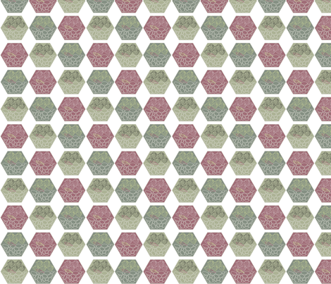 Rose Terrarium fabric by colour_angel_by_kv on Spoonflower - custom fabric